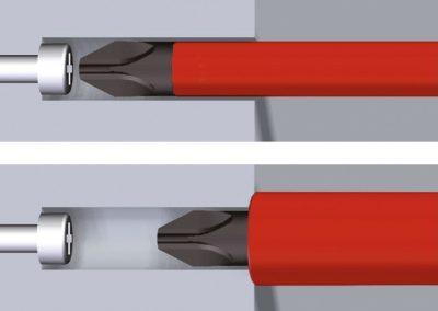 Wiha 2879 35870 slimTorque VDE porte-embout pour 6 mm slimBits