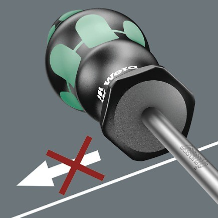WERA - SCREWDRIVER BALL END HEX 352  5.0x100mm
