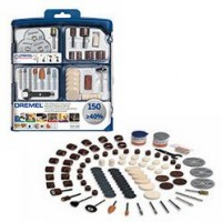 150 pieces multipurpose accessory set 724