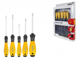 SoftFinish® ESD slotted/ Phillips screwdriver set, 5 302ESD HK5