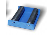 Unwinder for heat-shrink film roll