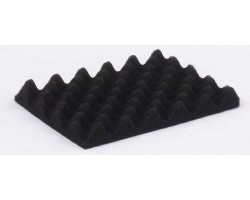 Conductive profiled black foam for CSC