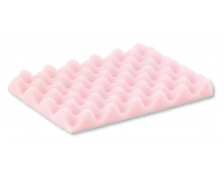 Dissipative profiled pink foam for CSC
