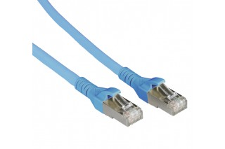 METZ CONNECT - Patch cable Cat 6A 10G AWG26 blue
