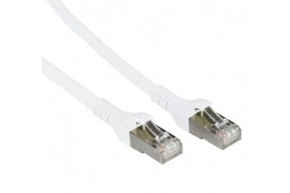 METZ CONNECT - Patch cable Cat 6A 10G AWG26 white