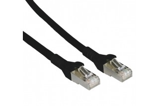 METZ CONNECT - Patch cable Cat 6A 10G AWG26 black