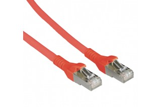 METZ CONNECT - Patch cable Cat 6A 10G AWG26 red
