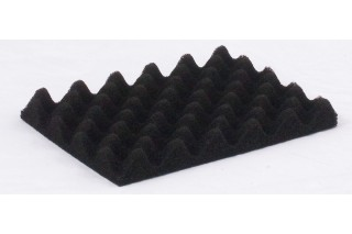 HKM Coated Product - Conductive profiled black foam for CSC