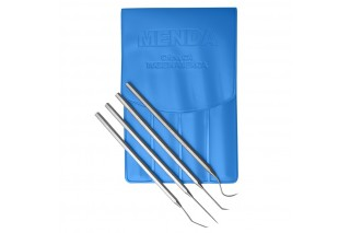 - Stainless Steel Probe Kit with Four Tools and Pouch