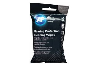 AF - Cleaning wipes for hearing protection