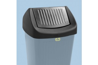 - Swing lid for waste bin 50L