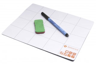 BERNSTEIN - Magnetic mat with pen and sponge