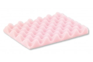 HKM Coated Product - Dissipative profiled pink foam for CSC