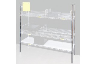 ITECO - Amount for Wire shelving
