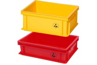 - Packing boxes ESD stackable