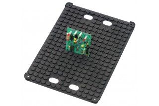 - Holder for PCB, conductive, flat