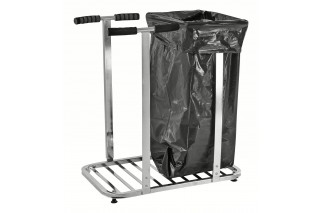 - Double ESD sack stand for two 125 L sacks