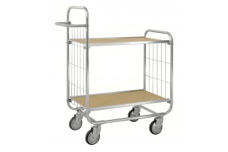- ESD Flexible shelf trolley