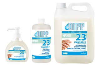DIPP - Disinfecting hand lotion