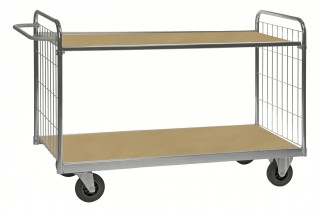 - ESD adapted shelves