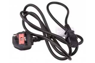 - IEC Power Cord, UK/Asia
