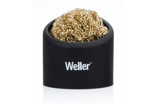 WELLER Consumer - Brass sponge tip cleaner with holder