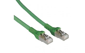 METZ CONNECT - Patch cable Cat 6A 10G AWG26 green