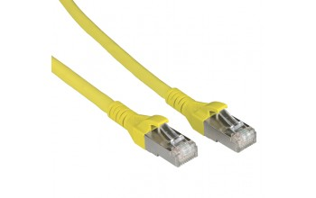 METZ CONNECT - Patch cable Cat 6A 10G AWG26 yellow