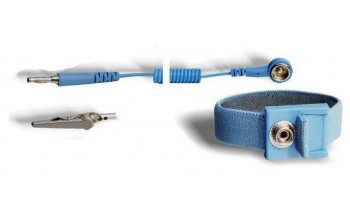 ITECO - Adjustable wrist strap DK10 with coiled cord DK10/banana plug