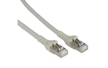 METZ CONNECT - Patch cable Cat 6A 10G AWG26 grey