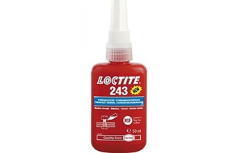 LOCTITE - 243 Medium strength threadlocker (Max M36)
