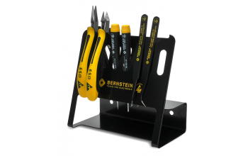 BERNSTEIN - 6-piece ESD tool kit with tool holders