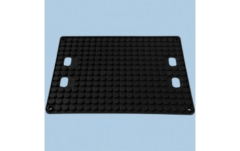 - Cross-slotted board holder for tote box