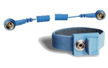 ITECO - Adjustable wrist strap DK10 with coiled cord DK10/DK10