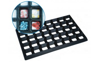 - Assembly grid mat (component storage)