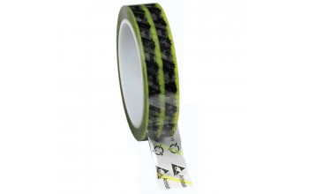 - ESD Clear Cellulose Tape with Symbols (yellow)