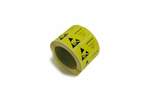 - ESD caution labels