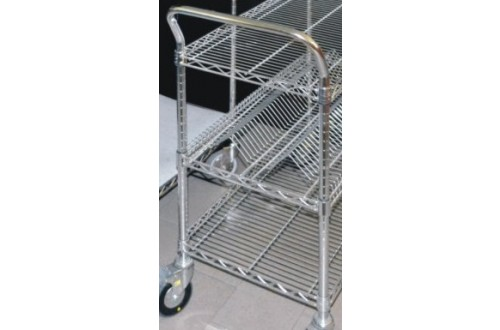 ITECO - U-HANDLE 610MM WIDTH FOR WIRE CARTS
