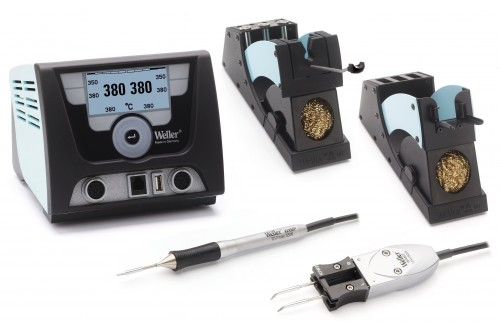 WELLER - Soldering Station WX 2021 with Irons WXMP & WXMT