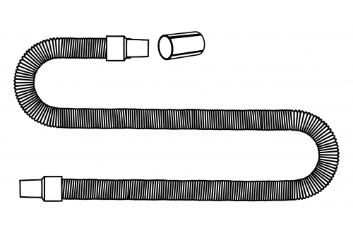 - Long extension hose assy