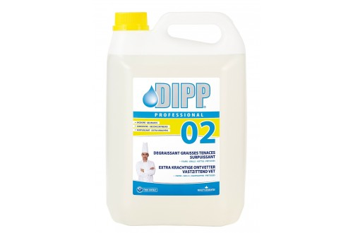 DIPP - DIPP heavy duty degreaser food industry