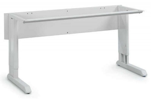 - CONCEPT WORKBENCH FRAME, MOTOR, 1500x750mm, ESD GREY