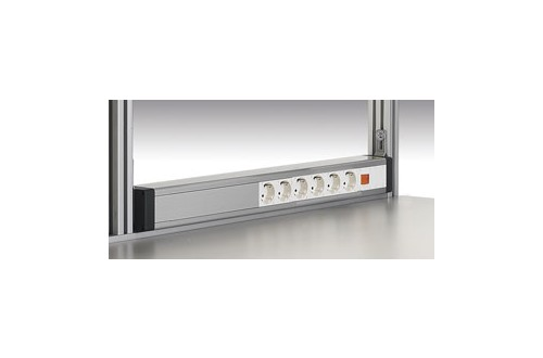 - POWER CHANNEL 6 SOCKETS AND 1 SWITCH