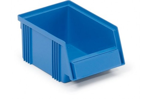 - Stacking bin Blue