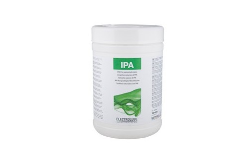 ELECTROLUBE - IPA CLEANING WIPES IPA100
