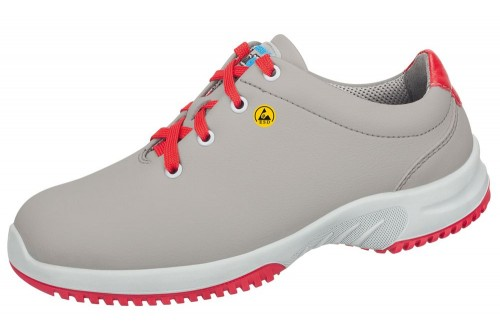- ESD SHOES UNI6 GREY/RED SIZE 46