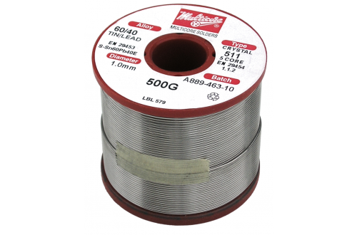 "MULTICORE - Solder wire Sn60Pb40 Flux 511 ""CRYSTAL"""