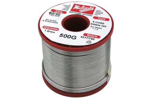 MULTICORE - Solder wire Sn60Pb40 Flux 362