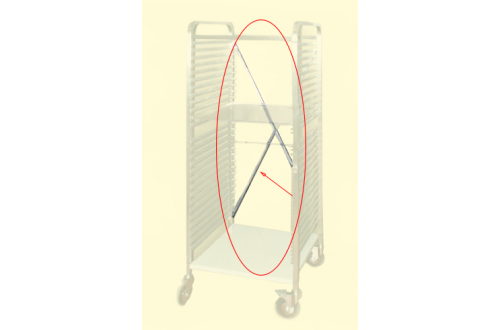 ITECO - TRAY HOLDER - CROSS BRACING L=543